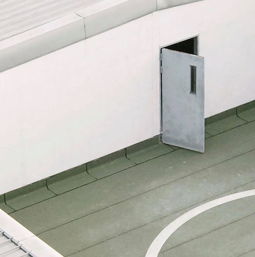 Architecture Building Building Exterior Built Structure Copy Space Door No People Outdoors Wall Wall - Building Feature White Color