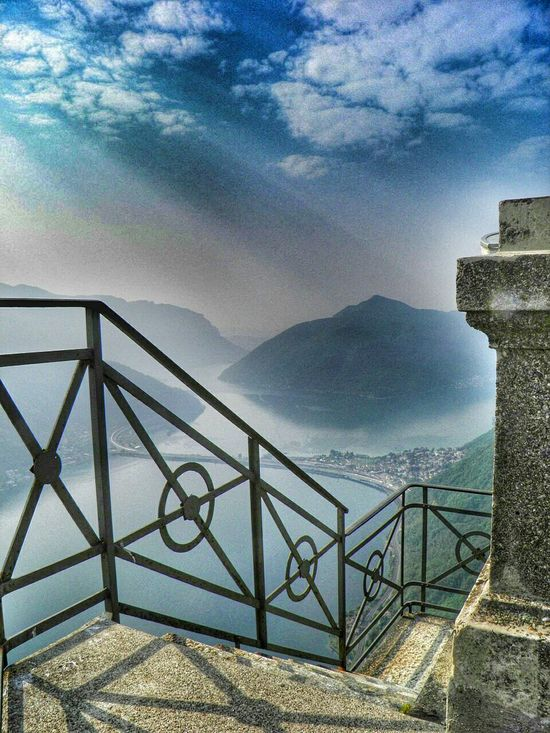 Lago Di Lugano  Monte San Salvatore Ticino Amazing Places Lake View Eyem Best Shots View From Above