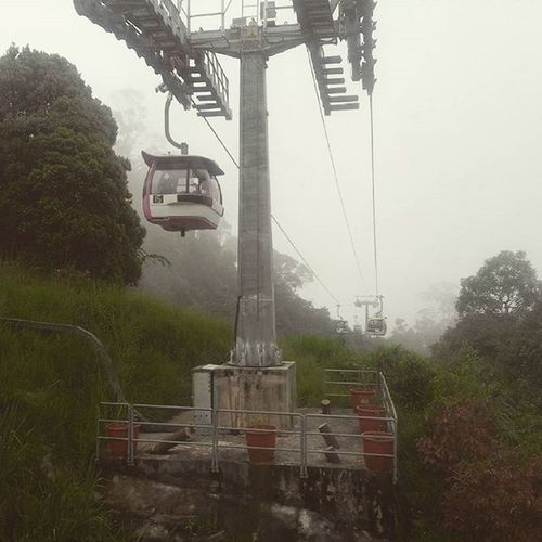 Kereta gantung Gentinghighland Malaysia Akfarisfibanjarmasin StudyTour