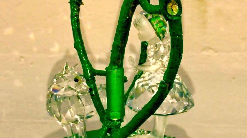 Rotkäppchen ;-)) Cold Temperature Close-up No People Ice Green Color Frozen Freshness Winter Indoors  Snow Day Fragility Svarovsky Svarovski