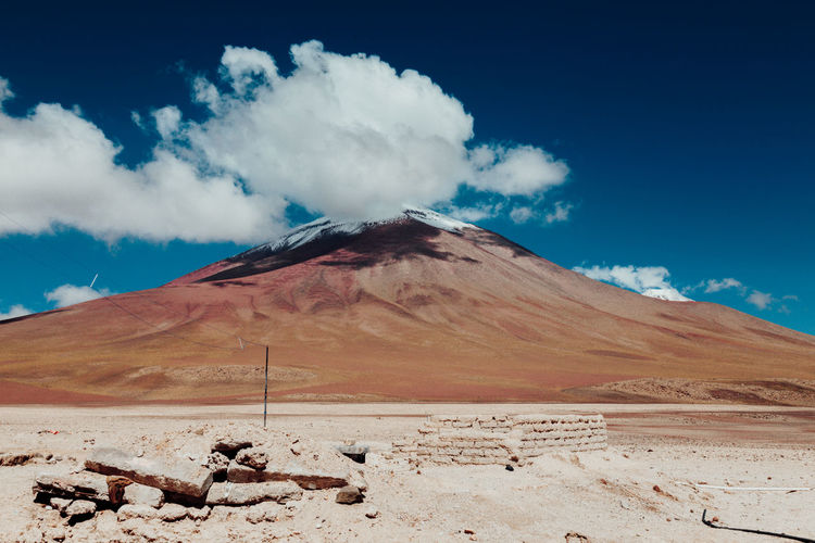 Arid Climate Backpacking Beauty In Nature Bolivia Cloud - Sky Day Desert Landscape Mountain Nature Nature No People Outdoors Physical Geography Sand Scenics Sky Tranquil Scene Tranquility Travel VSCO Vscocam Wanderlust