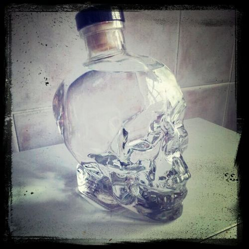 Vodka skull for Christmas Skull Vodka Alcohol Bottles Crystal Skull Vodka Alcohol