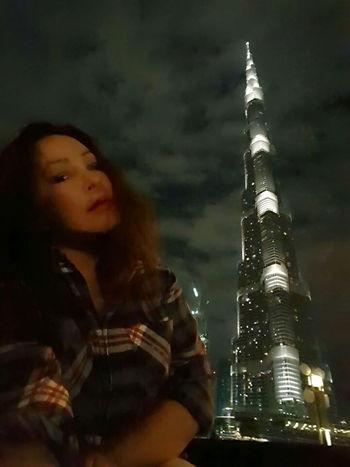 My Travel In Dubai Series: Lizara ❤️ Solo Traveler! Dubai❤ Travel Photography Nightphotography My Obsession❤ with Burjkhalifa Selfportrait Hello World Enjoying Life Buildings & Sky Monument United Arab Emirates