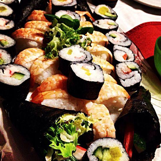 Food Sushi Japanese Food Yammy!!