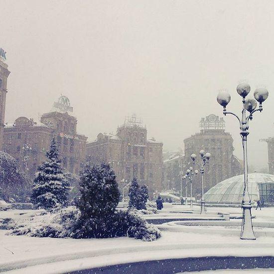 Київ зима Instakiev Kievgram