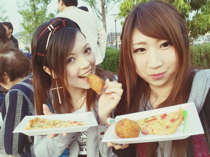 グリーンフェスティバル❤︎ Bff Nature Eat Eat And Eat Pizza