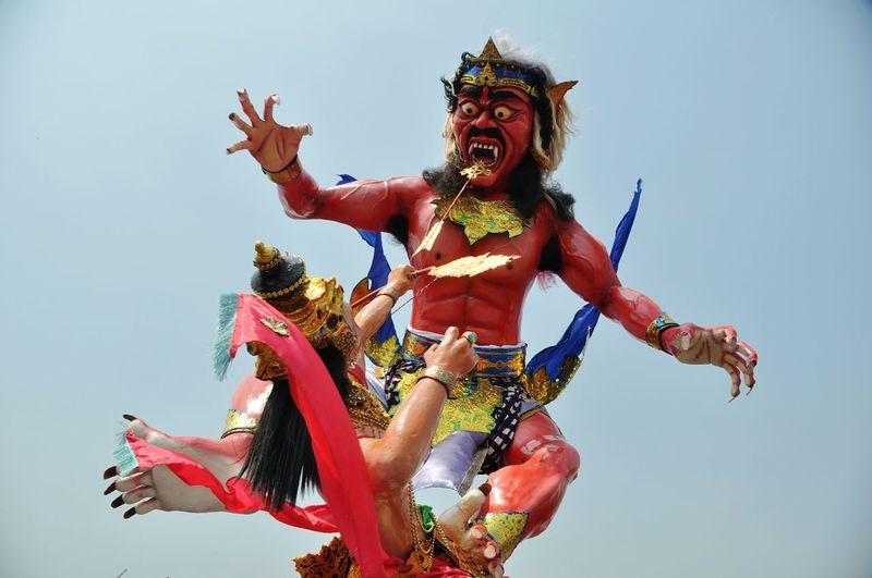Ogoh-ogoh, symbol of devil OgohOgoh Ogoh Ogoh Ogoh-ogoh Bali Hindu Dharma Hindu Tradition Culture Nyepi