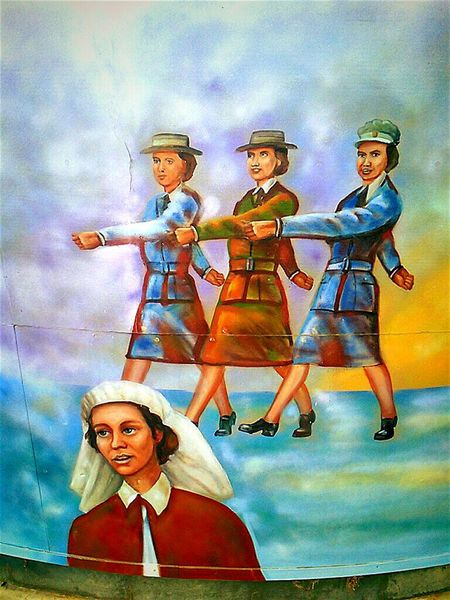 Taking Photos Women In Uniform Wall Painting ArtWork Remembrance Women In War Otto Park Wallofremembrance Wall Of Remembrance War Memorial Otto Park Wall Of Remembrance Lestweforget Remembrance Memorial Public Art Art Check This Out