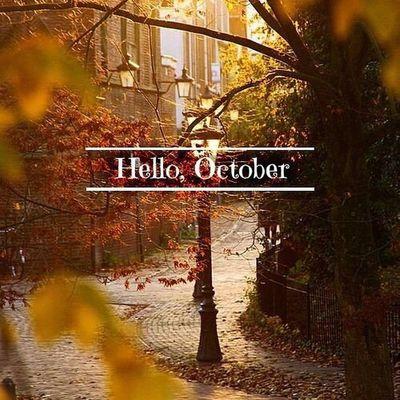 Привет, мой любимый месяц??