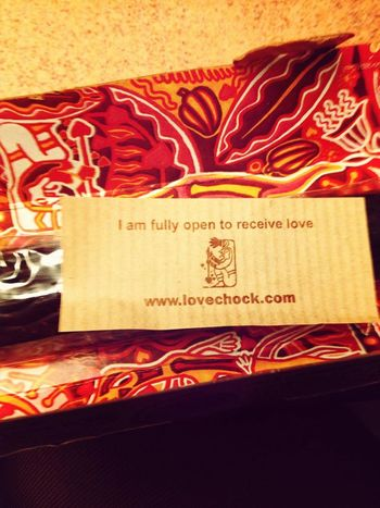 This made me happy! Lovechock Chocolate Rawsnackfood Healthy