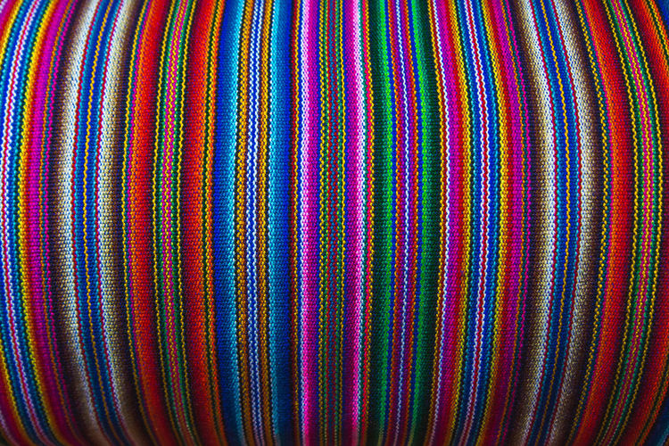 Traditional Peruvian fabric. It's so pretty! I still regret that I didn't bring any back home.. Andes Backpacking City Cityscape Exploring Inca Latin America Art And Craft Backgrounds Close-up Colonial Day Discover  Full Frame Multi Colored No People Pattern South America Still Life Striped Textile Textured  Travel Destinations Urban Woven The Still Life Photographer - 2018 EyeEm Awards The Traveler - 2018 EyeEm Awards