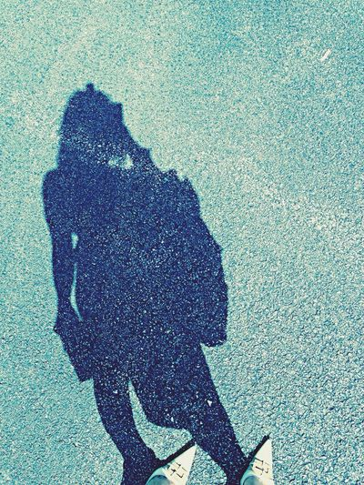 G O D Z I L L A Shadow Shadow-art Self Potrait