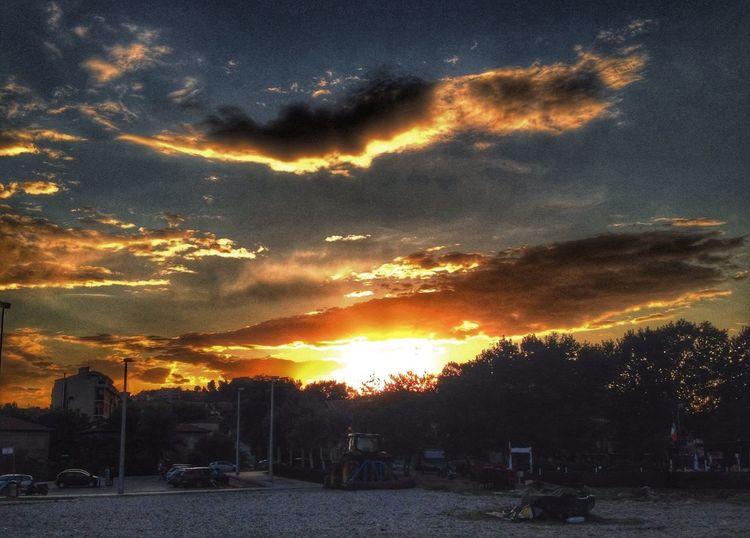 Sunset Tramonto Cloud Sole