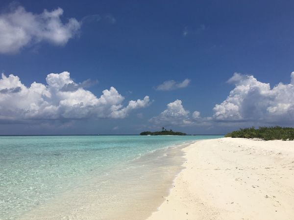 Maldives Islands Sea Beach Sky Nature Cloud - Sky Scenics Horizon Over Water Sand Water Island Hopping Island EyeEmNewHere Indian Ocean Maldives Sandbank Travel Destinations Island Travel Blue Tranquility Tranquil Scene Outdoors No People Nautical Vessel Day