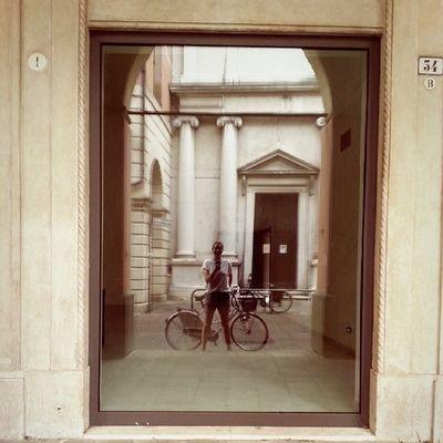 Via San Francesco Instapadova Bicycle Bikealone Bike church agosto refreshed mirror