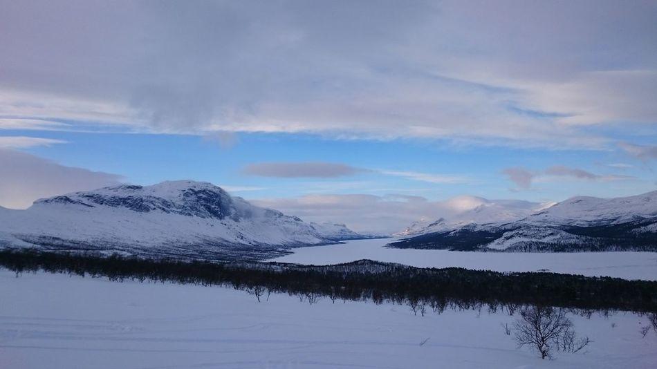 Lulep Kierkau Luleå älv Skiing Winterwonderland Sunny Day Saltoluokta Winter Landscape Winter