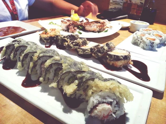 Because I love Sushi . ♥