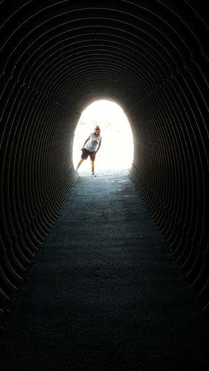 Tunnel-vision. Cliff Walk Tunnel Cliff Walks Newport, Rhode Island EyeEm Best Shots Eyeemphoto Rhode Island Photography⚓ Newport Series S6