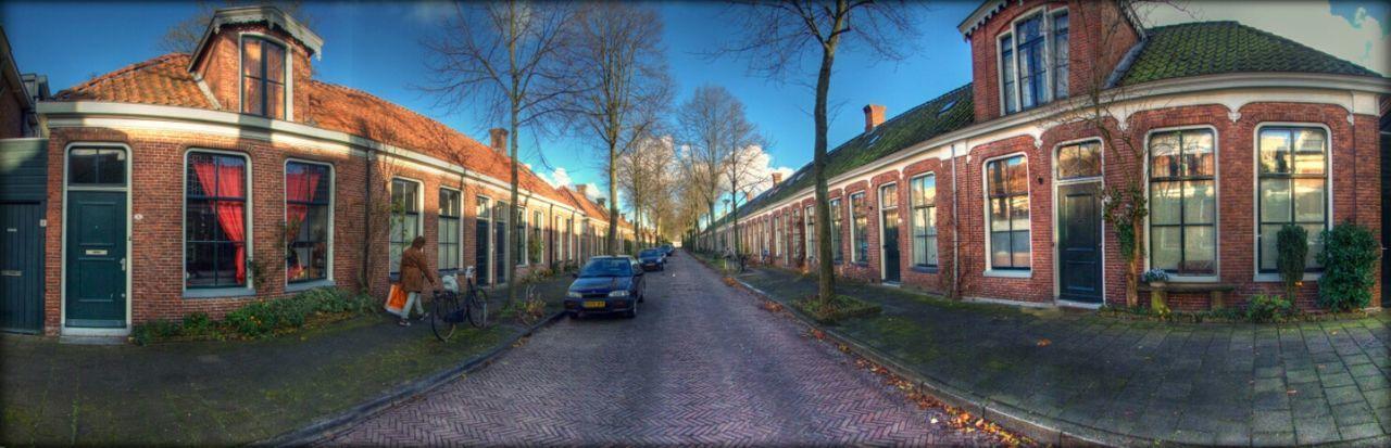Streetphotography Panorama 180° 28mm