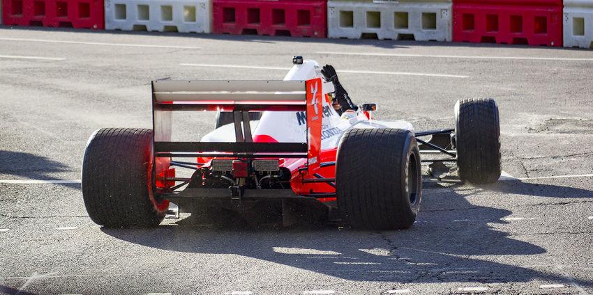 #F1LIVELONDON Day F1 Fernando Alonso Honda Honda F1 Land Vehicle London McLaren Racecar Senna Sport Sports Race Sunlight Transportation