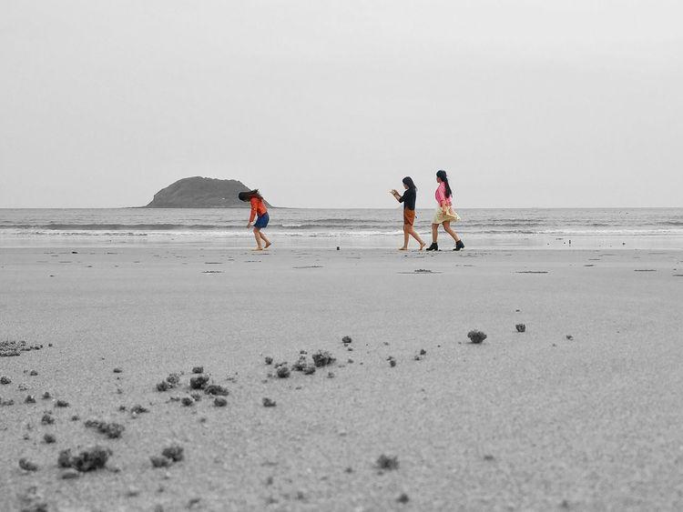 各自的风景只在各自的眼中 Taking Photos Hello World Relaxing Enjoying Life Sea Friends Color