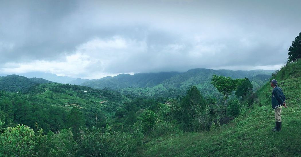 Philippines Benguet Home Is Where The Art Is IPhone IPhoneography Color Palette Panorama People And Places