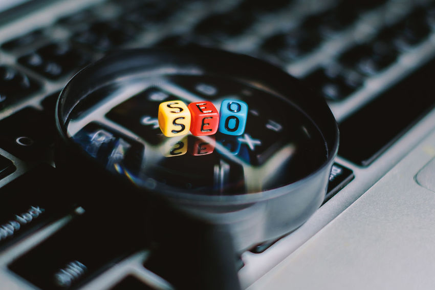 Alphabet Beads Business Content Social Word Computer Data Engine Find Information Internet Keyboard Keyword Letter Magnifying Glass Marketing Media Online  Optimization Search Seo Strategy Technology Website