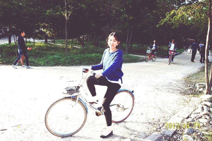 Happy Bicycle Nami Island I Wanna Go Back.