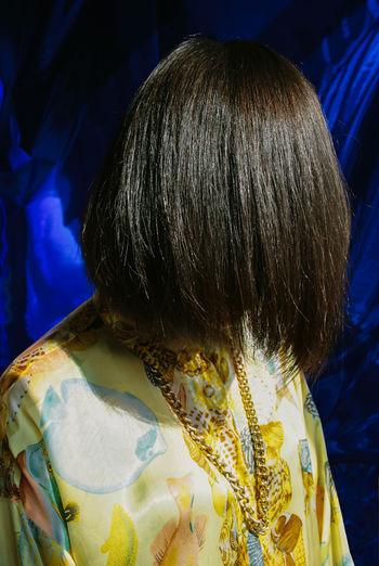 Close-up Unrecognizable Person Leisure Activity Brown Hair Women Lifestyles Headshot Hairstyle Hair Portrait Rear View Hair Haircut Hairy  Weird Weirdo Strange Art Fashion Human Hair One Person Unrecognizable People Portrait Of A Woman Pattern