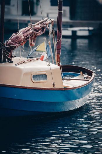 Boat life in port grimaud