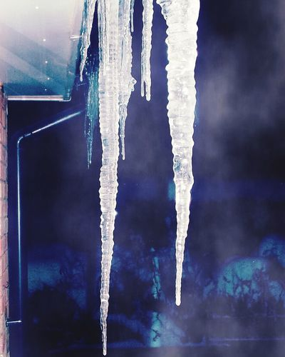 How Do You See Climate Change? Icicles Pretty♡ Chillintheair ColdNight Mistynight ❄️🌨🌬☃🌫⛄️ Lovethistimeofyear