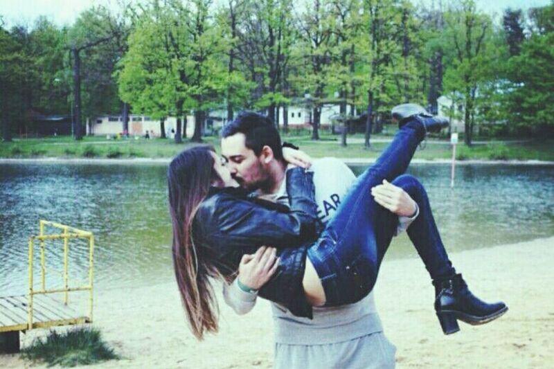 #love #me #lake #picnic #kiss #poland #łódź First Eyeem Photo