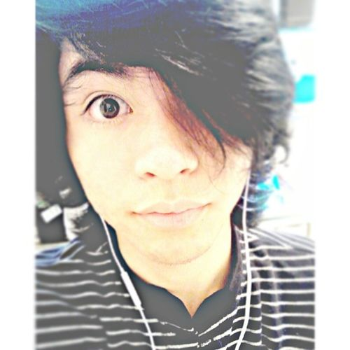 Longest my hair has been lol Stare Straightface Eye Music