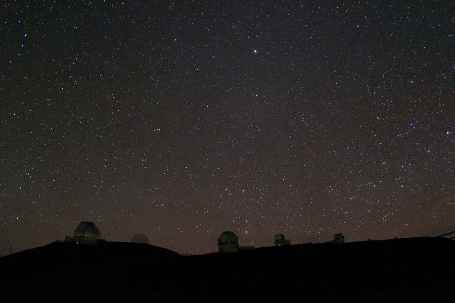 Architecture Astrophotography Building Exterior Dark Glowing Hawaii Mauna Kea Observatories Mystery Night Observatory Space Stars Telescope Universe Feel The Journey