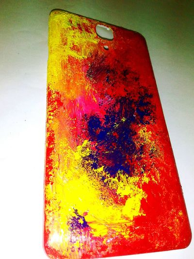 My newly painted back cover with my own imagination.....how is it guys?