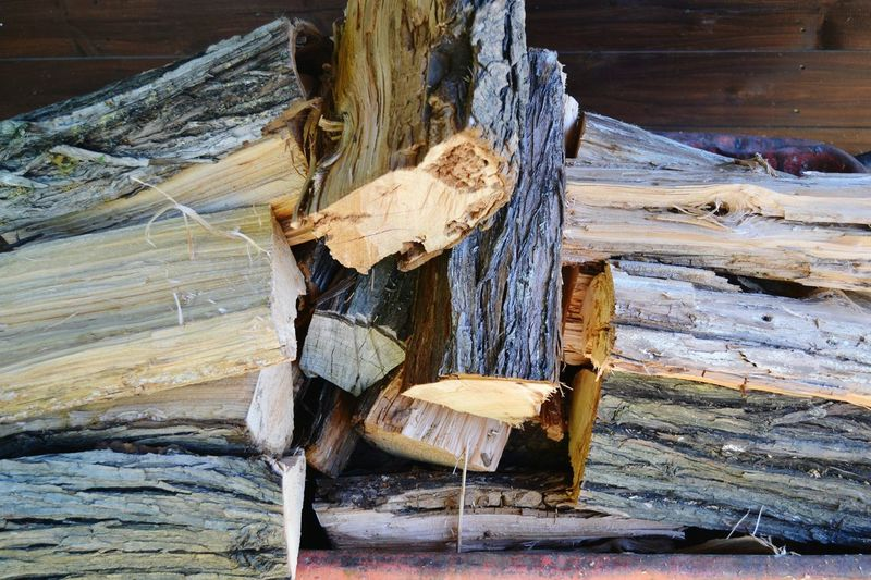 Winter Can Come Kaminholz Pices Ready Wood Wood - Material Close-up