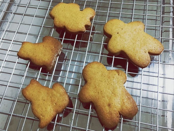 Group of homemade ginger bread. Hobby Bakery Bake Homemade Snack Gingerbread Food And Drink Food Cookie Cooling Rack Unhealthy Eating Preparation  No People Sweet Food