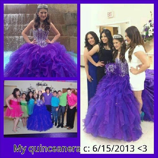 My Quinceañera c; 6.15.13 <3 Throwbackthursday  Quinceñera I Miss that day <3