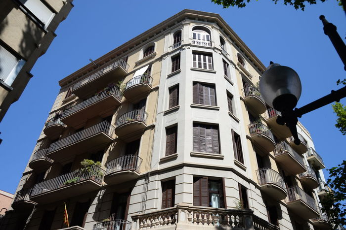 Avenue, Glories, Architecture, Ancient, Old, Antique, Historic Art Nouveau, Art Deco, Neighborhood, Outdoor, Cityscape Barcelona Catalan Catalania Catalonia Colorful, District, City España🇪🇸 Mediterranean  Urban