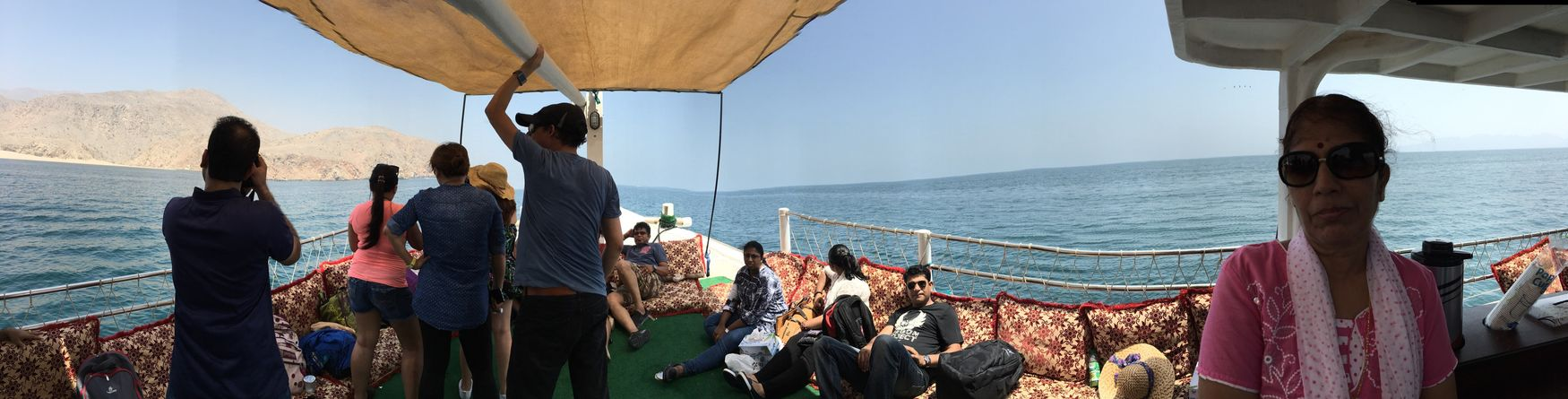 EyeEm Selects Oman Musandam Cruise Dhowcruise Blue Sky Blue Water Panoramic