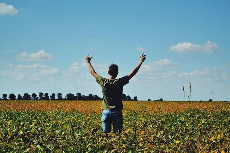 Cuando eres lo que quieres ser, eso es felicidad... Córdoba Argentina Ig_cordoba Igers VSCO Liberty Nature