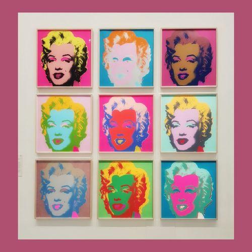 Marilyn Monroe Andy Warhol Ngvmelbourne Moma Artporn EyeEm Best Shots Picoftheday