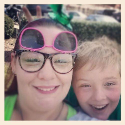Love this kid! MonkeyAndMe StPattysDayParade Stpattysday SoFreshAndSoGreengreen