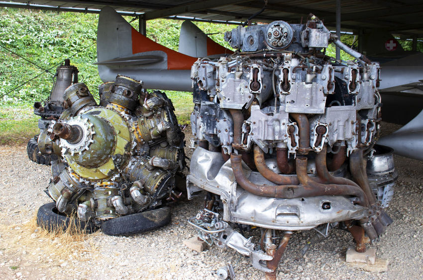 Jet engine Jet Engine Abandoned Close-up Day Engine Machine Part Machinery Metal Mode Of Transportation No People Outdoors Technology Transportation