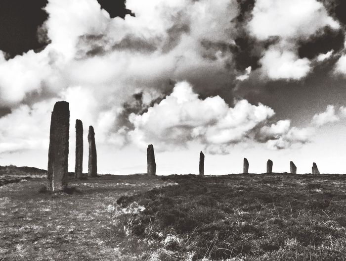 Ring of Brogdar, Orkney Standing Stones Orkney Cloud - Sky Sky Nature Land Day Summer Exploratorium