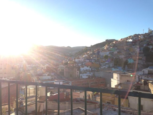 In the early afternoon #guanajuato #mexico City Clear Sky Day Sun Sunbeam Sunlight Sunny Town First Eyeem Photo