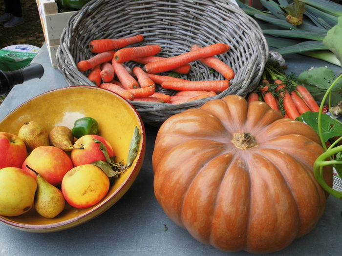 Close-up Day Food Food And Drink Freshness Harvest Healthy Eating High Angle View Outdoors Pumpkin Vegetable