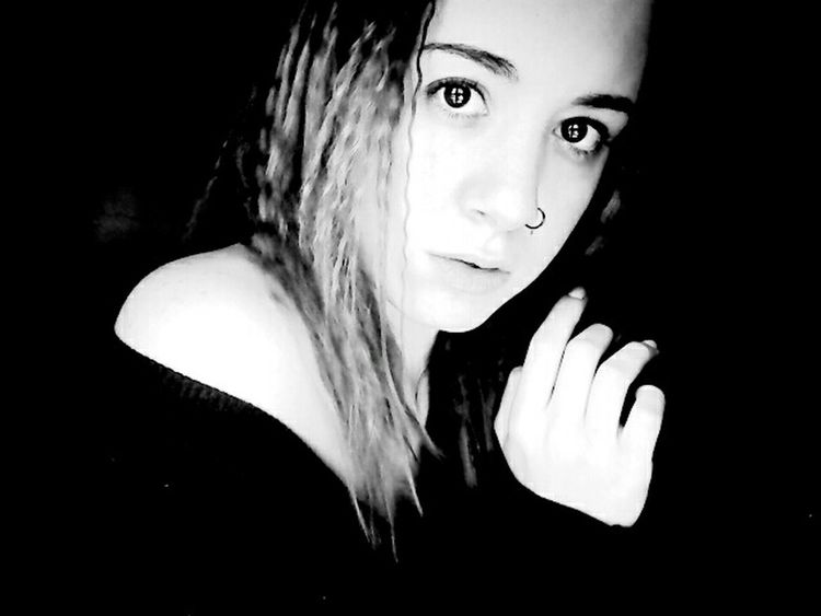 Black And White Faces Of EyeEm Face The EyeEm Facebook Cover Challenge Young Girl Naara
