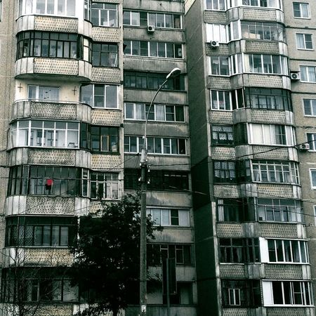 Building Exterior Window Architecture Built Structure City Apartment Phonecamera RussianFederation Streetphotography Residential Building Soviet Architecture City Street Soviet Era Russia россия Balcony