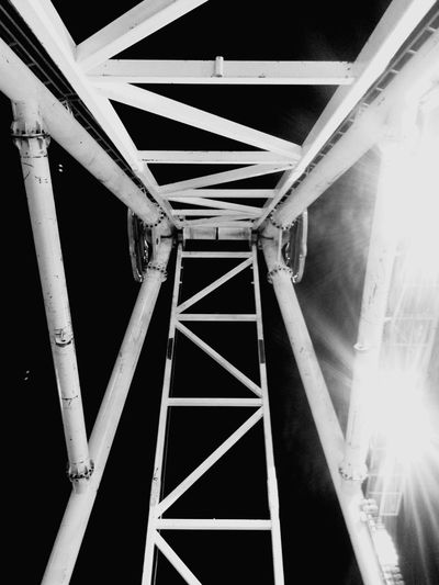 Dark side 2 side Outdoors Playstation No People Low Angle View Connection Built Structure Bridge - Man Made Structure Architecture Transportation Girder Day